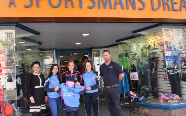 A Sportsman's Dream Make Generous Donation to Camogie Club