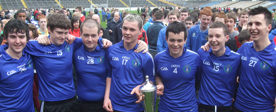 Seán Geaney, Gary Howard, Dean Ray, Killian Gleeson, Donnacha Quinn, James Mackey and Kevin Gubbins who represented Éire Óg on the Nenagh CBS team which famously won the Croke Cup in 2012.