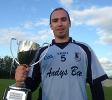 Eoin Fitzgibbon - captain 2013 junior A league winners