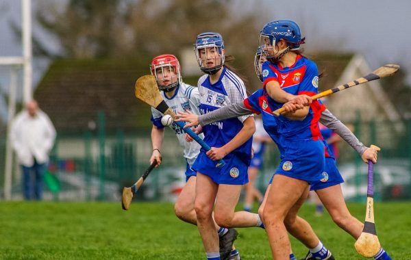 Megan in action for St. Mary's ©Padraig Hogan