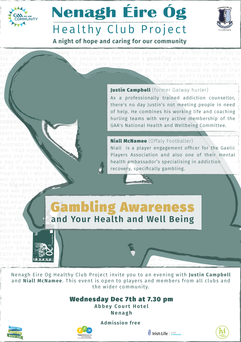Gambling & Addiction Awareness - Your Health and Wellbeing