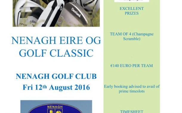 Nenagh Éire Óg Golf Classic