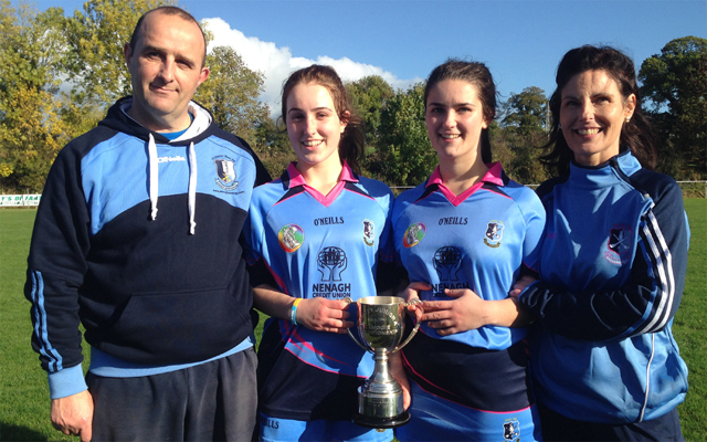 Blues crowned county junior A Camogie champions