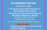 Get Fit for 2020 Challenge with Nenagh Éire Óg Camogie Club