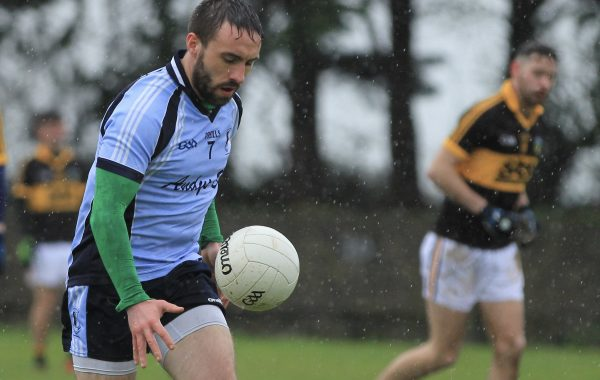 Michael Hynes in possession against St. Patrick's