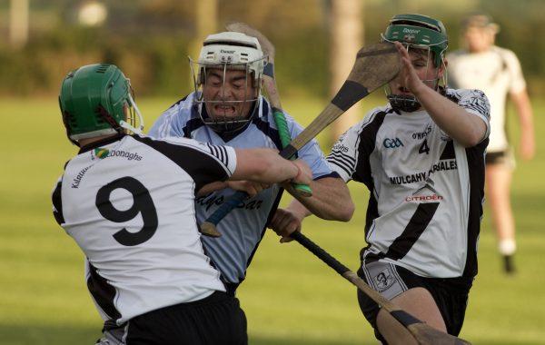 Donnacha Quinn in action against Kilruane MacDonagh's