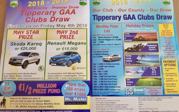Tipperary GAA Clubs Draw