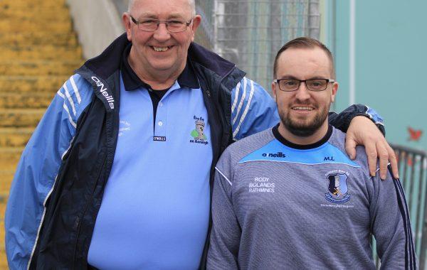 Bartley Ryan and Xherdan Shaqiri at the recent county senior hurling final in Semple Stadium